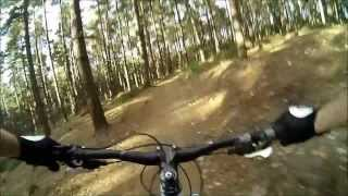 Best of Swinley Forest Blue mountain bike - Toshiba Camileo X-Sports Cam
