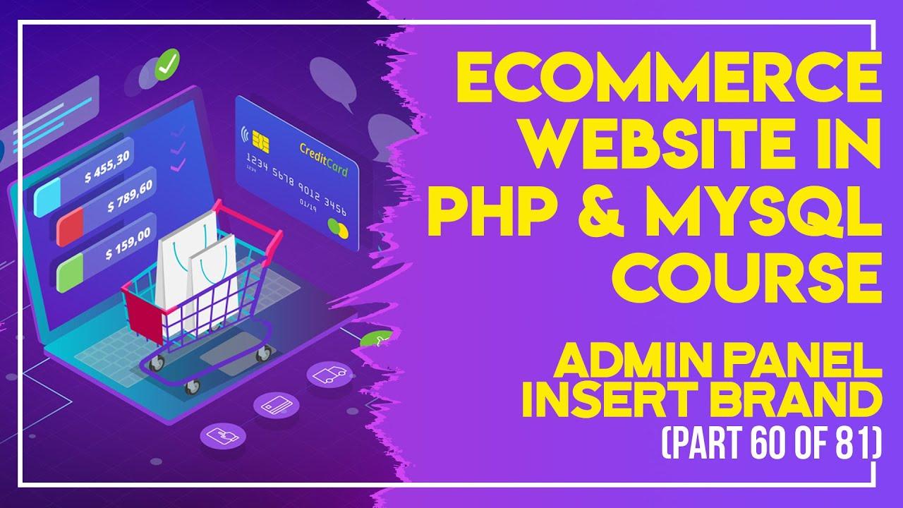 E-Commerce website in PHP & MySQL in Urdu/Hindi part 60 admin panel view categories