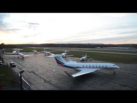 Dutchess County Airport Departure Time Lapse