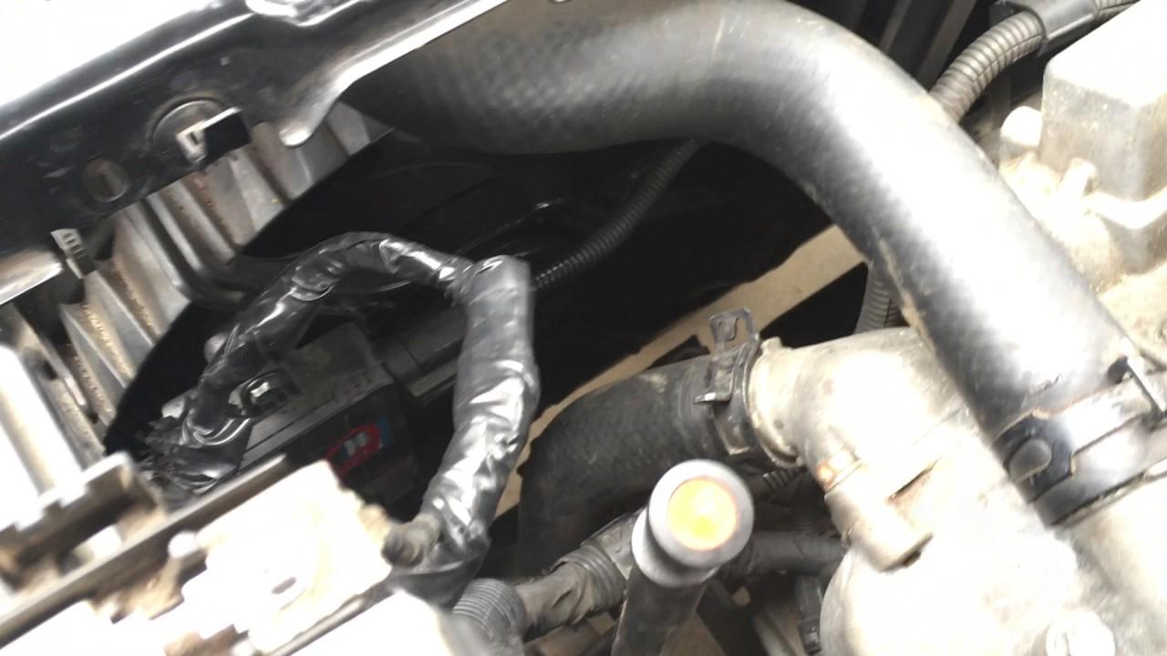 2006 KIA SEDONA Overheating  Cooling Fan Module Fix  YouTube