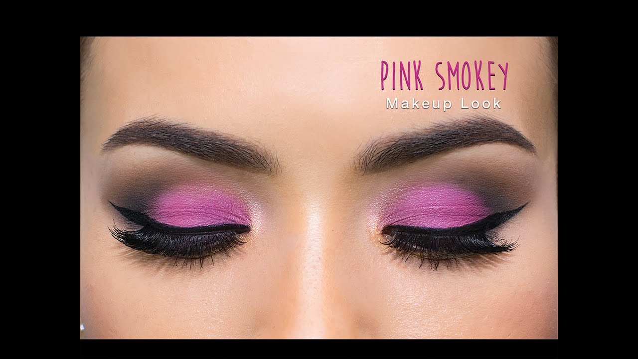 Pink Smokey Eye Makeup Makeup Vidalondon