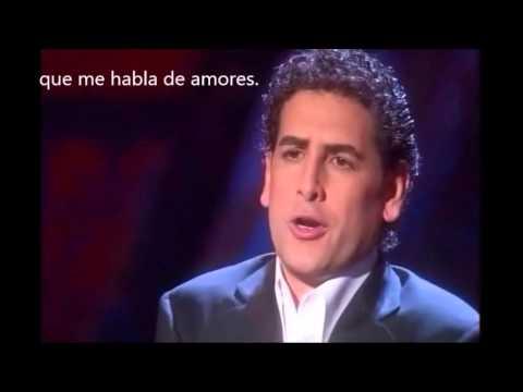 Granada. Spanish Song. Tenor J.Diego Flórez. Subtitled