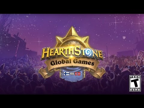 Finland vs. Norway - Group E - 2017 Hearthstone Global Games - Week 1