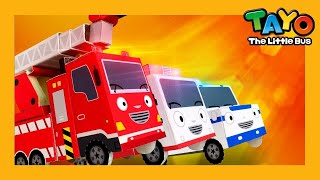 Rescue Team Song l Car Songs l Police Car Song l Fire Engine Song l Songs for Children