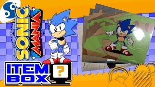 Sonic Mania Animation & Sonic CD Cels | ÉLÉMENT de la BOÎTE de