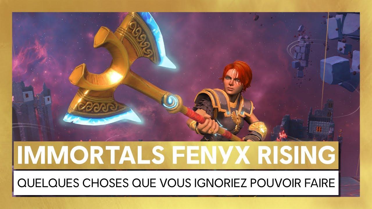 Immortals Fenyx Rising - Quelques choses que vous ignoriez pouvoir faire