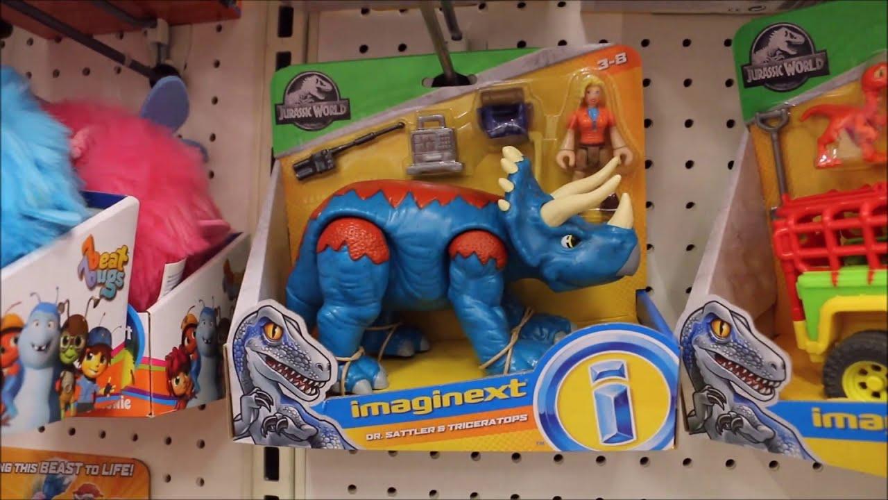 New Jurassic World Shopping Spree Fallen Kingdom Mattel Dinosaur Toys  Target, Walmart April 16th  Wd Toys 18:03 HD
