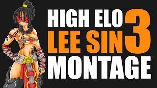 TheDarkTongo High Elo Lee Sin Montage 3 - Best LoL Plays