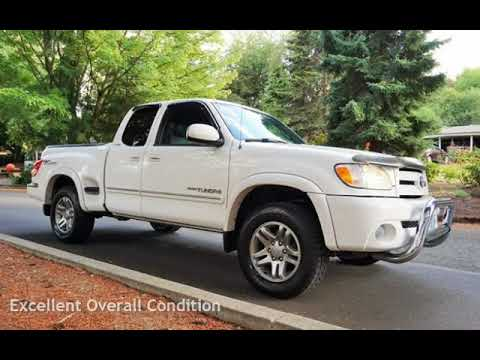 2004 Toyota Tundra Limited 4dr Access Cab Leather Stepside Bed for sale in Milwaukie, OR