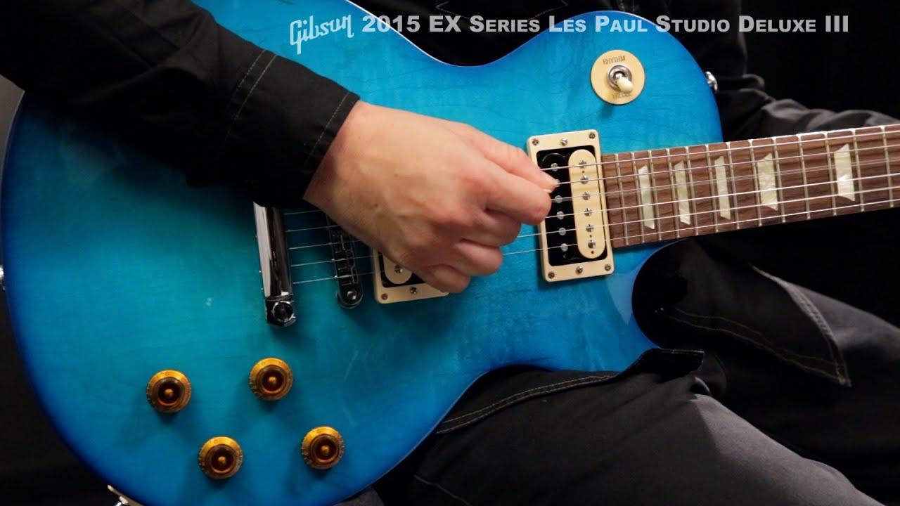 Gibson 2015 EX Series Les Paul Studio Deluxe III Electric Guitar ...