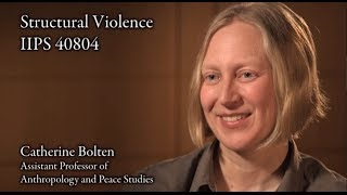 "Catherine Bolten, ""Structural Violence"""