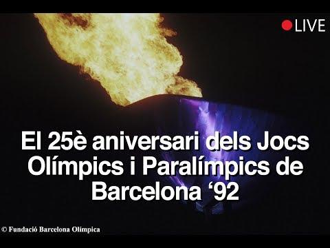 Commemoració 25 anys Jocs Olímpics i Paralímpics BCN '92