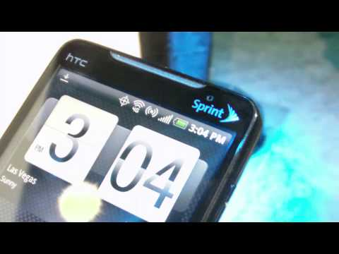 HTC EVO 4G hands-on
