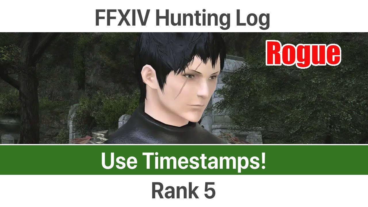 Rogue hunting log rank 1 - Ffxiv Hunting Log Rogue Rank 5 A Realm Reborn