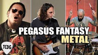 Saint Seiya Pegasus Fantasy | METAL COVER Ft. Mauren (Voz Original Español Latino)