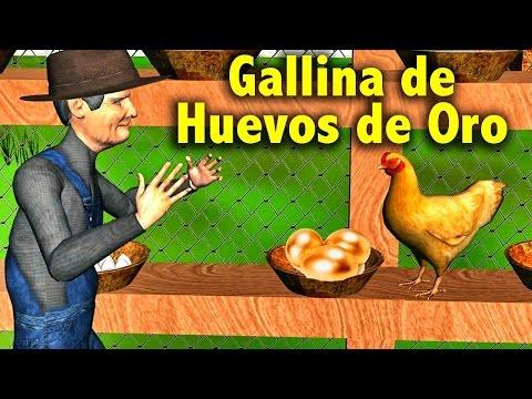 La Canción del Cuento de La Gallina de los Huevos de Oro - Videos Educativos para Niños