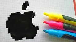 Pixel Art Logo Marque Fila