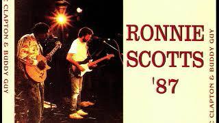Buddy Guy & Eric Clapton - Ronnie Scott's Club. 1987