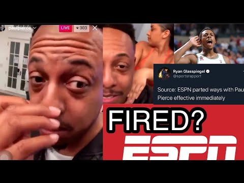 Paul Pierce Fired From ESPN After Viral Party Night