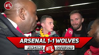 Arsenal 1-1 Wolves | Is It Time For Emery To Go? (Robbie Asks Fans) Ft Ty