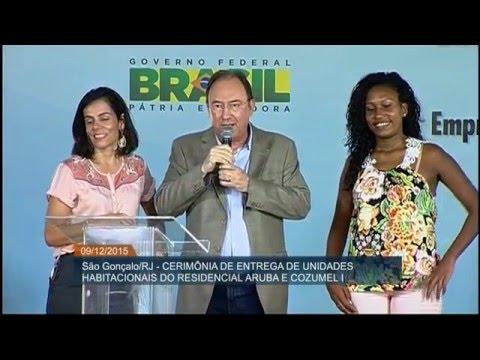 Dilma Rousseff faz entrega simultânea de 10 mil residências do Minha Casa Minha Vida