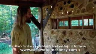 At The Farm: Jason's House part 1, cordwood