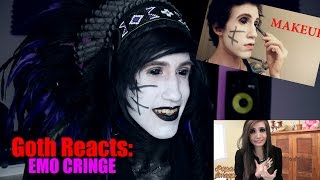 Goth Reacts to Emo Cringe Compilation.
