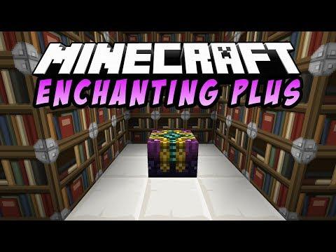 ОБЗОР МОДОВ #2 УЛУЧШЕННЫЙ СТОЛ ЗАЧАРОВАНИЯ В Minecraft. Enchant Plus