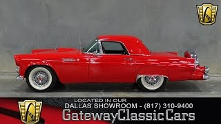 1955 Ford Thunderbird Stock #63 Gateway Classic Cars of Dallas