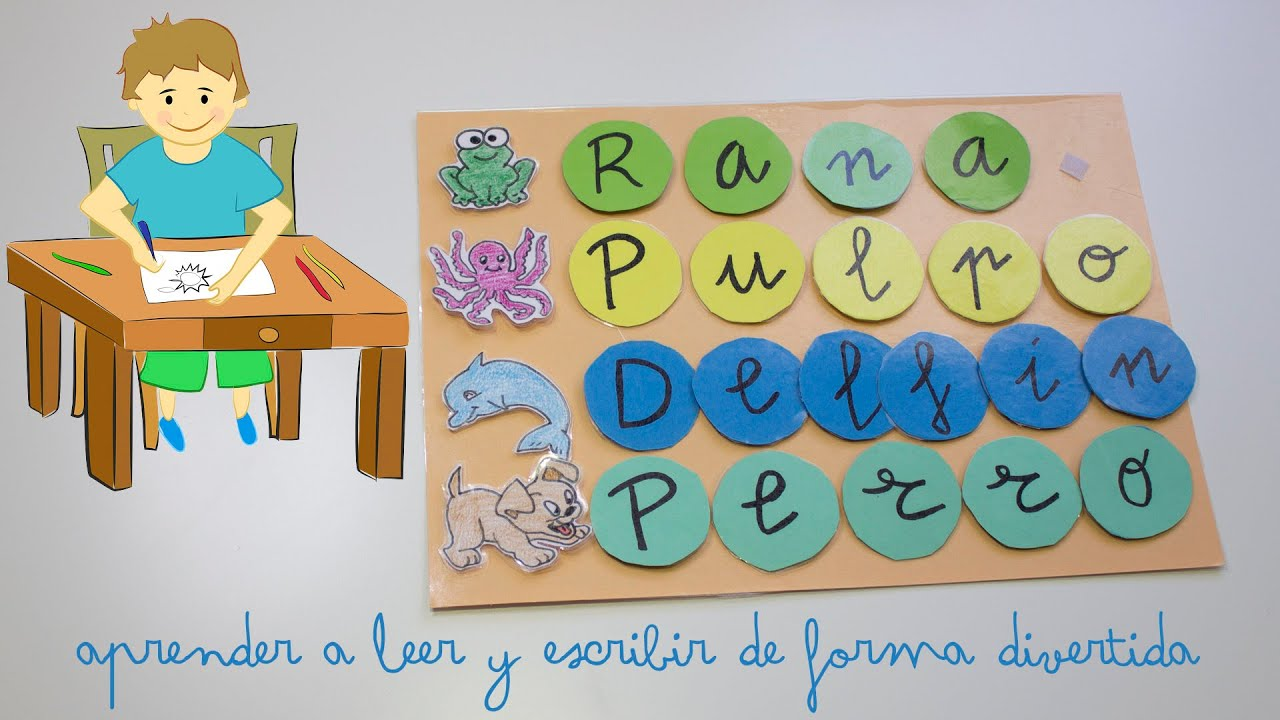 mirada detallada variedades anchas descuento Aprender a leer y escribir de forma divertida - Learn to read and write in  a fun way