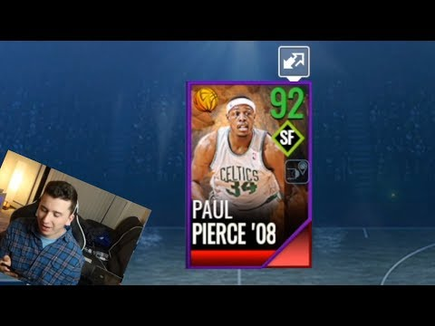 92 OVERALL PAUL PIERCE! NBA Live Mobile Harvest Pack Opening #1