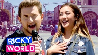 Butts Popping Balloons ? | RICKY DILLON VS. THE WORLD