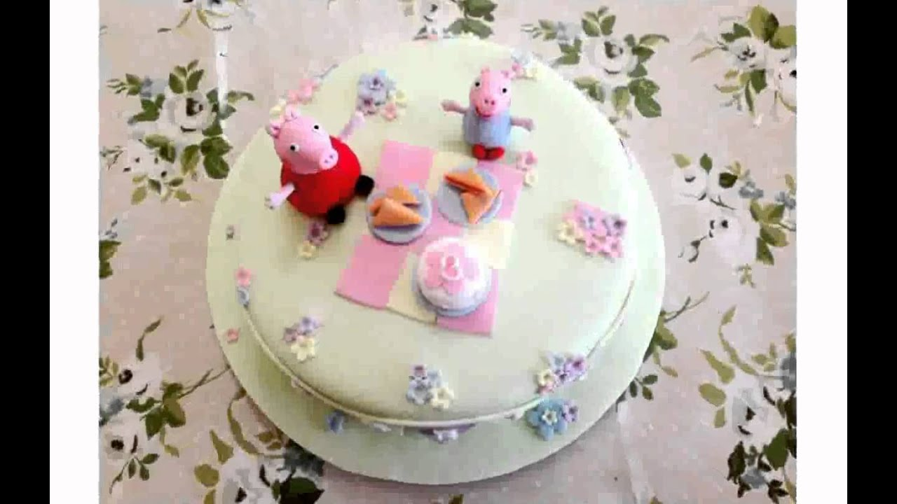 Peppa Pig Cake Decorations Youtube