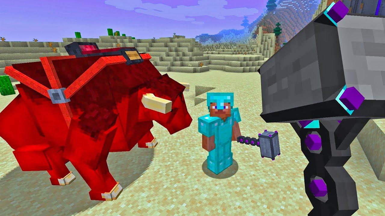 I Got THOR HAMMER In Minecraft - I Am Khaleel