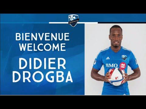 Conférence De Presse De Didier Drogba