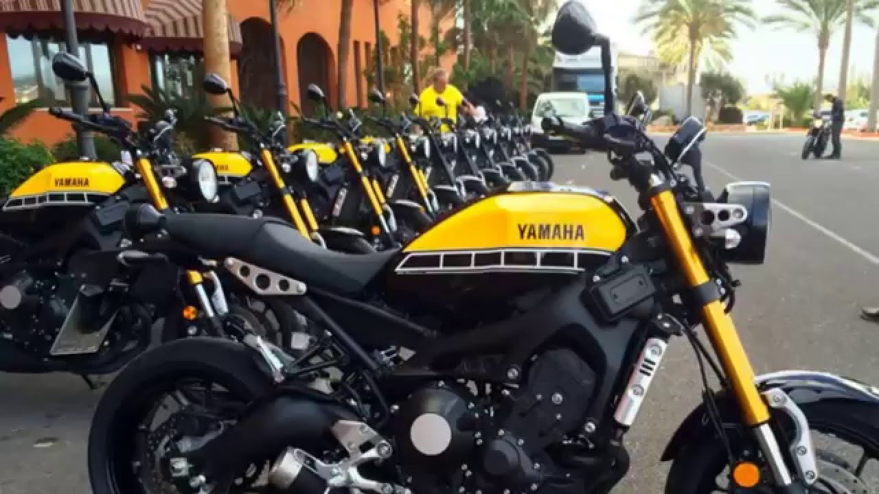 Yamaha Xsr Still Retains The Mt 09 Qualities That Lovely