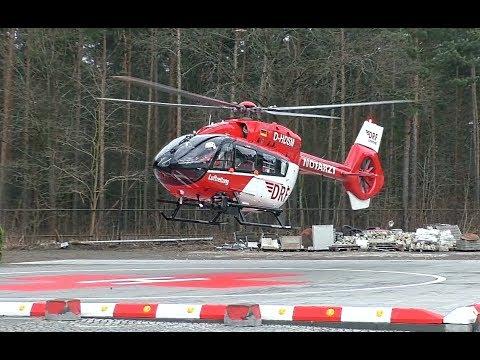 ITH Christoph Berlin (D-HDSM) | Landung + Start an der Oberhavel Klinik Hennigsdorf
