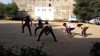 Bom bom target dance rehearsal group dance  choreography by me govinda kumar gmaxx