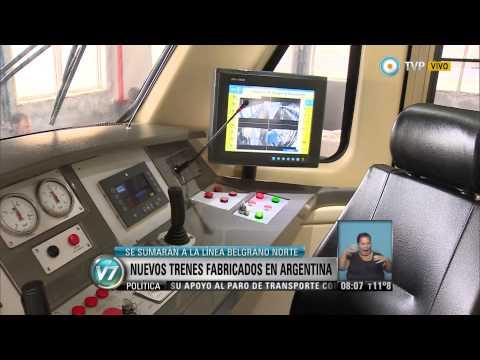 Visión 7 - Nuevos trenes fabricados en Argentina