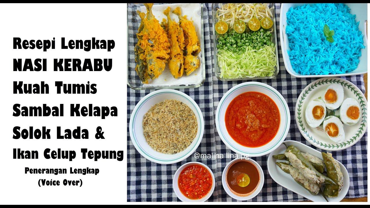 Download Cara Buat Nasi Kerabu Mudah Dan Sedap  Resepi Nasi Kerabu Tumis   Nasi Kerabu Kelantan   lina pg