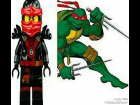 Ninja turtles vs lego ninjago youtube - Ninjago vs ninjago ...