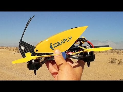 Ideafly Grasshopper F210 FPV Racing Drone Flight Test Review