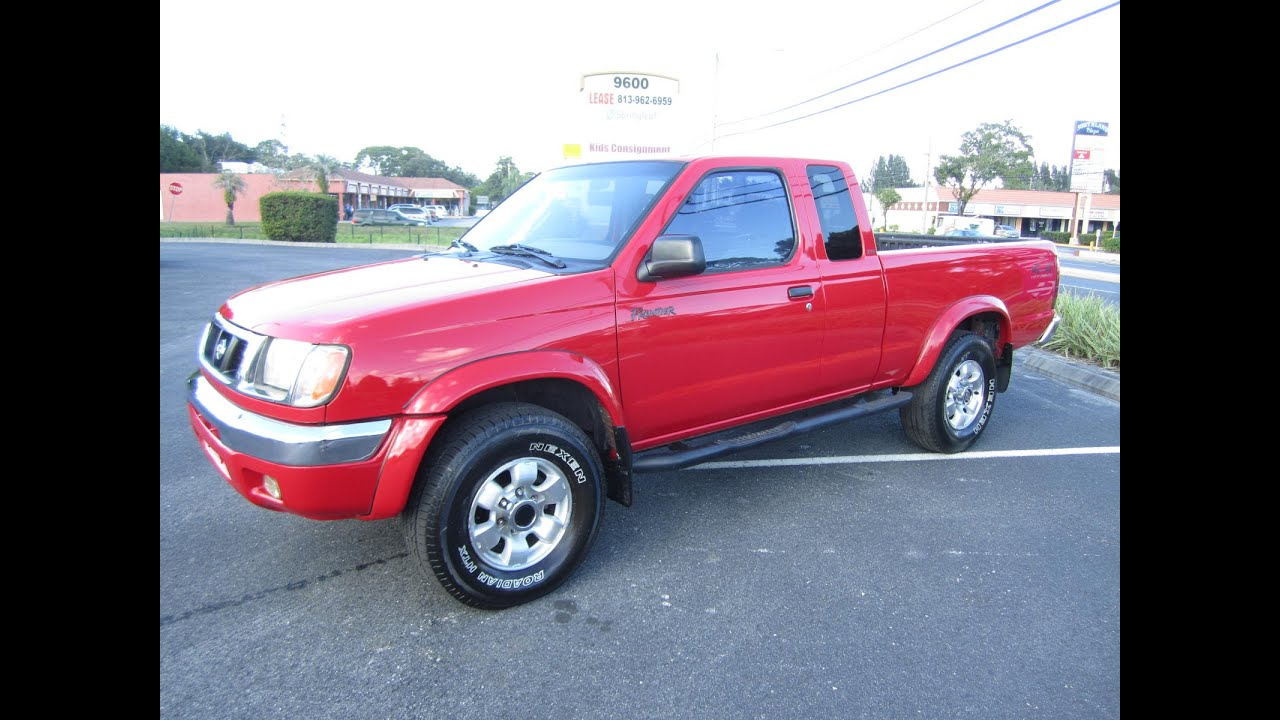 Sold 1999 Nissan Frontier Xe 4x4 V6 Meticulous Motors Inc Florida For