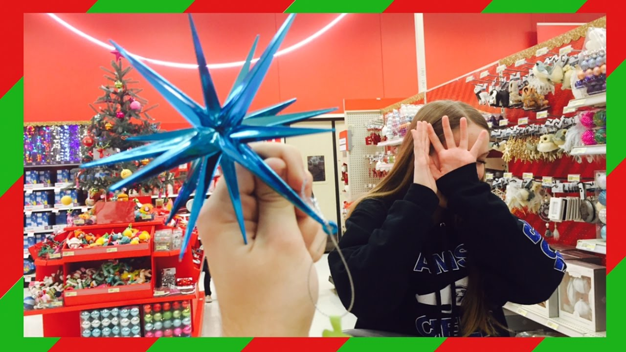attacking my sister with christmas ornaments target vlog youtube - Christmas Ornaments Target