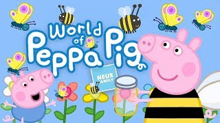 Go Shopping, Camping & More in the most comprehensive Peppa Pig App
