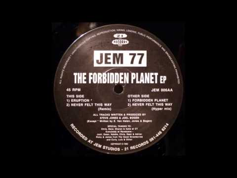 Jem 77 - Never Felt This Way (Hyper Mix) (1992)