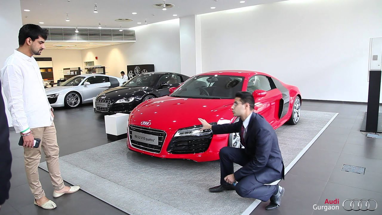 Audi Gurgaon Powerful Team