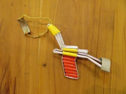 How to make a paper slingshot -p51 slingshot - GTa weapon
