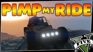 GTA 5 - Pimp My Ride ON TOUR #219 | DUNE FAV | Car Customization