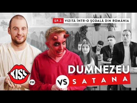 DUMNEZEU vs SATANA (Ep.3): Vizita intr-o scoala din Romania